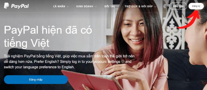 Hướng dẫn cách tạo tài khoản Paypal miễn phí mới nhât