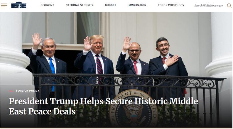 Trang web nhà trắng MỸ sử dụng WordPress