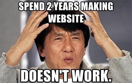 cách làm trang web