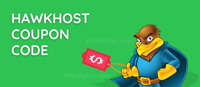 mã giảm giá Hawkhost coupon code mới nhất trọn đời