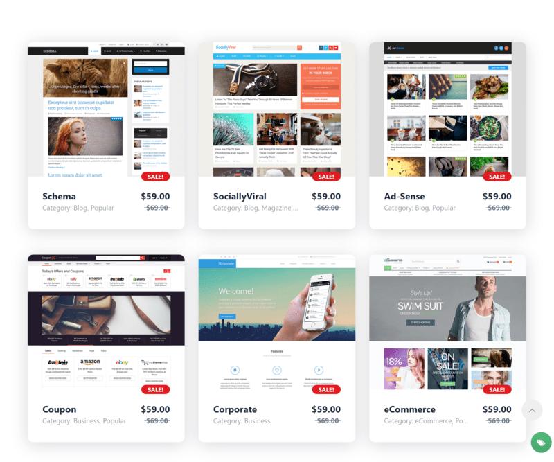 mythemeshop là nơi bán theme WordPress bản quyền nhất