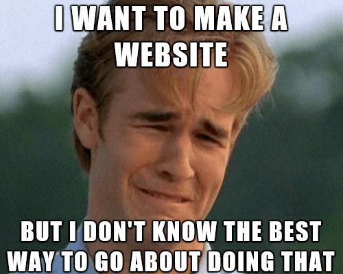 tự lập website