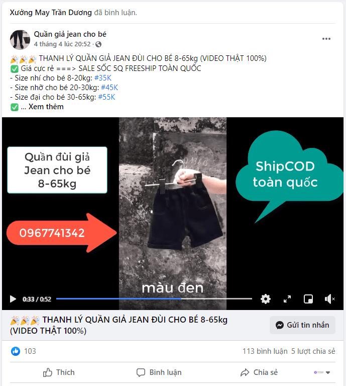 Bán hàng trên Facebook Group